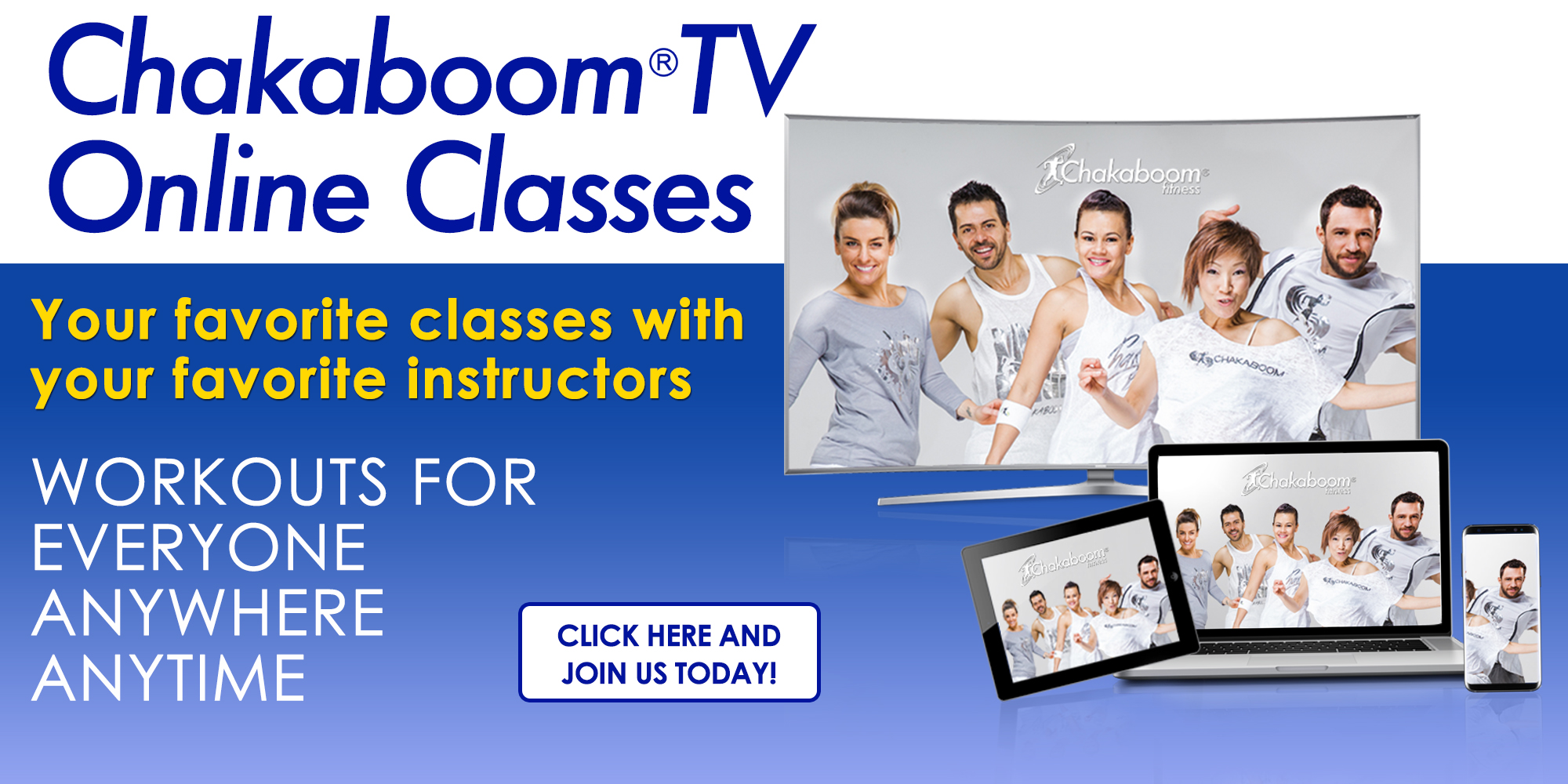 Chakaboom TV Online Classes