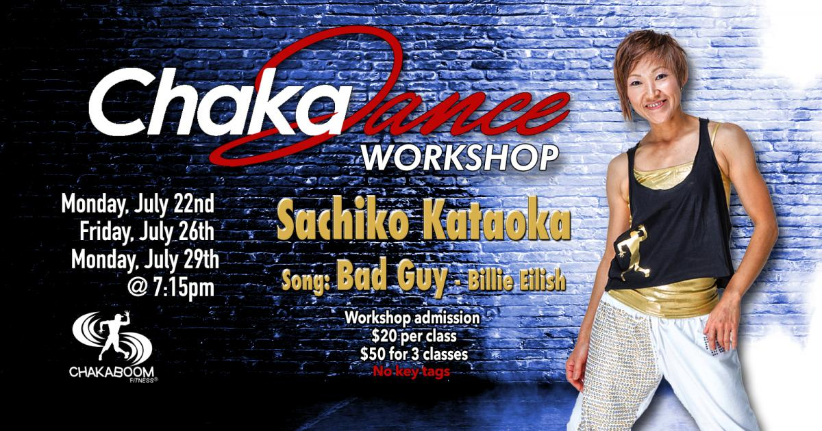 ChakaDance Worshop Sasa July 2019 tv